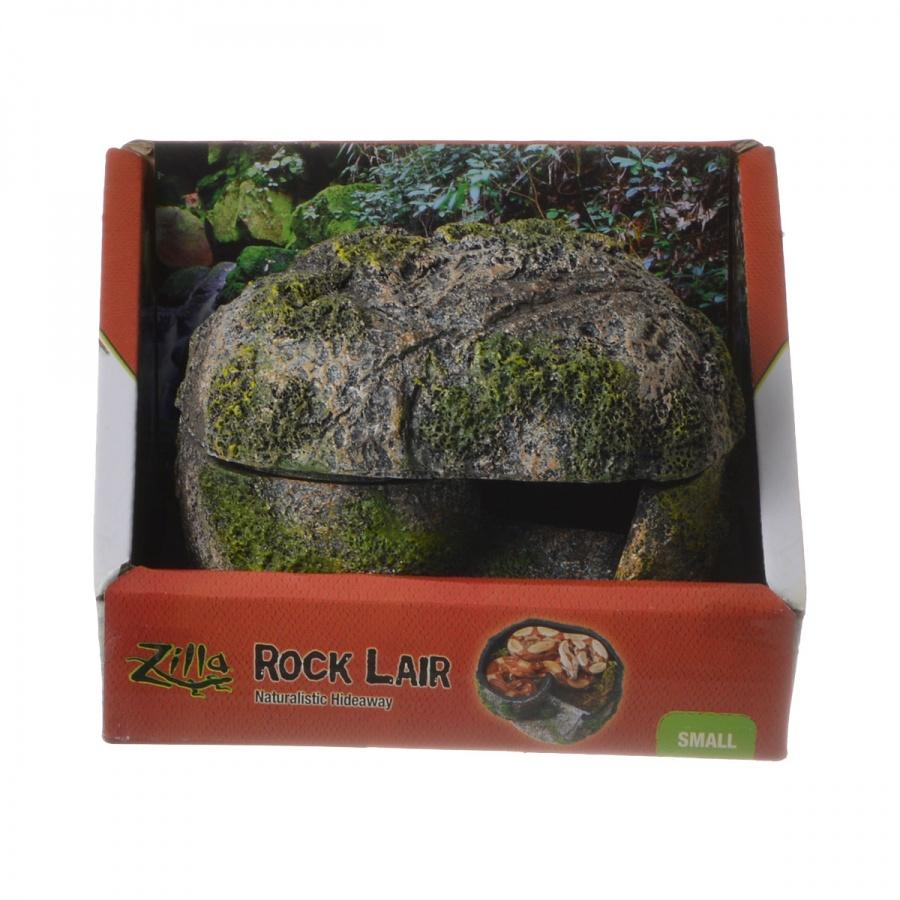"Zilla Rock Lair for Reptiles Small - (5""L x 5.5""W x 4""H)"