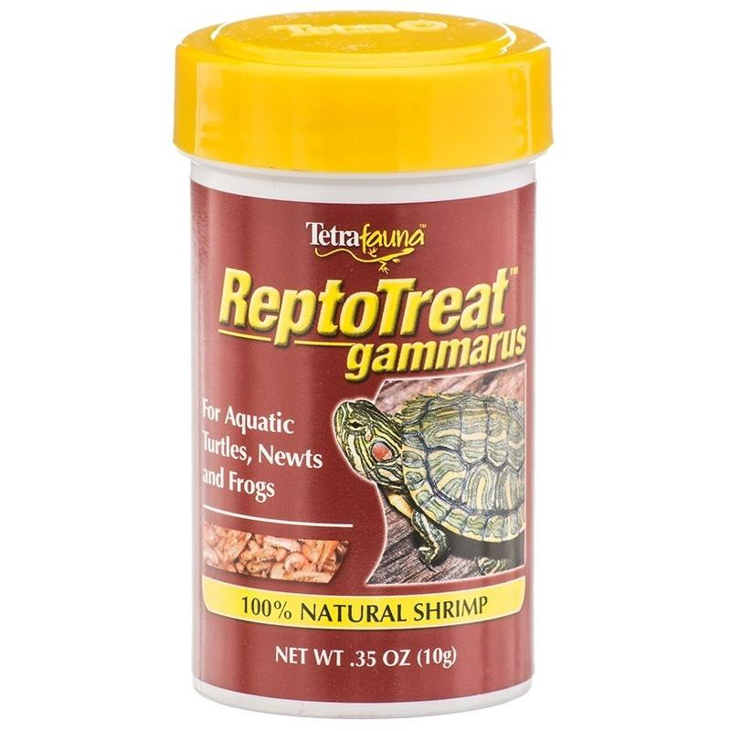 Tetra ReptoTreat Gammarus - 100% Natural Shrimp Foods Dry Tetrafauna .35 oz