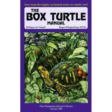 The Box Turtle Manual (Herpetocultural Library) Book - FREE Shipping! Book Reptiles Lounge
