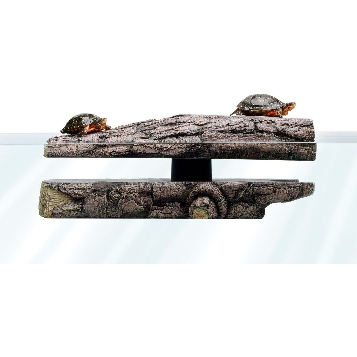 Zilla Freestanding Floating Basking Platform - Log Landing