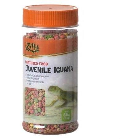 Zilla Fortified Food for Juvenile Iguanas