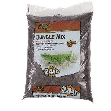Zilla Jungle Mix - Fir & Sphagnum Peat Moss Mix 24 QT