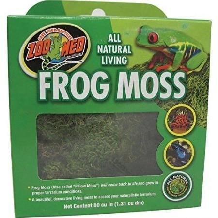 Zoo Med All Natural Living Frog Moss Flora & Moss Zoo Med