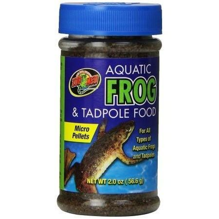 Zoo Med Aquatic Frog & Tadpole Food Foods Dry Zoo Med 9 oz