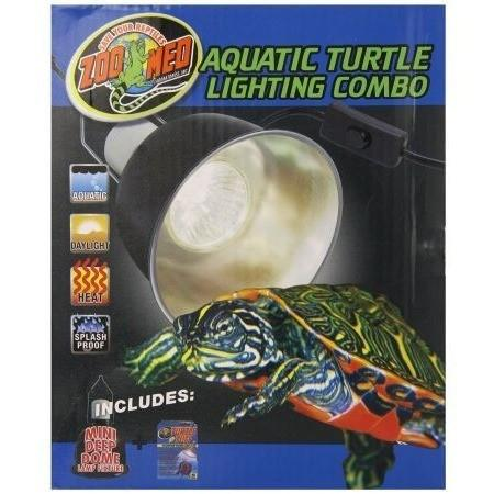 Zoo Med Aquatic Turtle Lighting Combo Lighting Incandescent Zoo Med