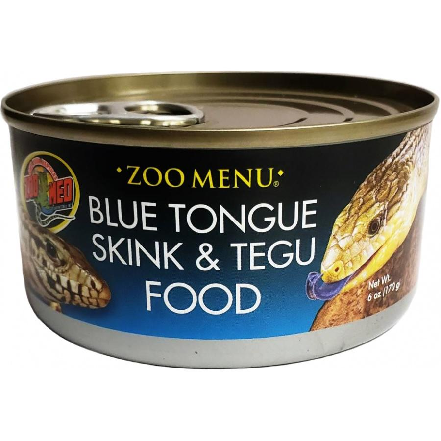 Zoo Med Blue Tongue Skink and Tegu Food Canned Foods Canned Zoo Med 6 oz