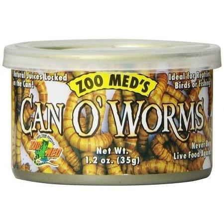 Zoo Med Can O' Worms 1.2 oz