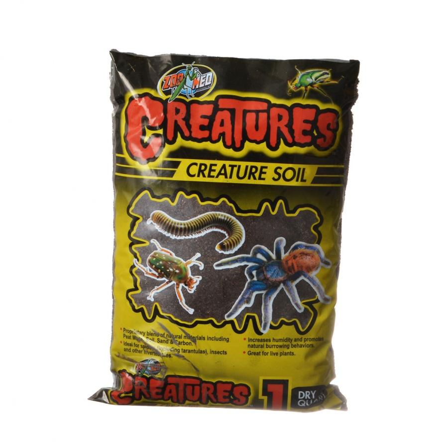 Zoo Med Creatures Creature Soil Bedding Zoo Med 1 Dry Quart (1.1 Liter)