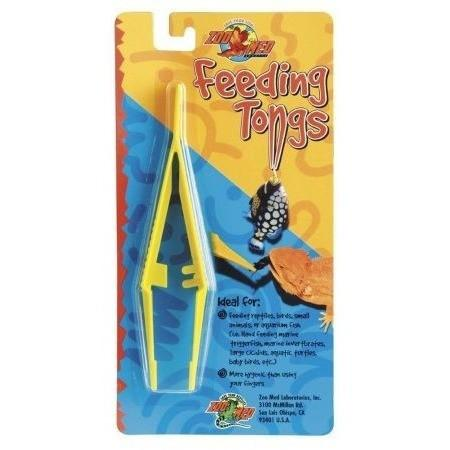 Zoo Med Feeding Tongs - Plastic Bowls & Dishes Zoo Med