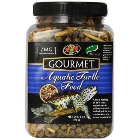 Zoo Med Gourmet Aquatic Turtle Food Foods Dry Zoo Med 6 oz