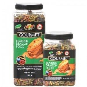 Zoo Med Gourmet Bearded Dragon Food Foods Dry Zoo Med