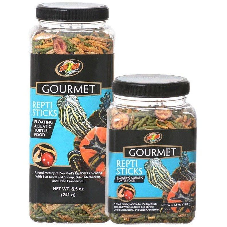 Zoo Med Gourmet Repti Sticks Floating Aquatic Turtle Food Foods Dry Zoo Med