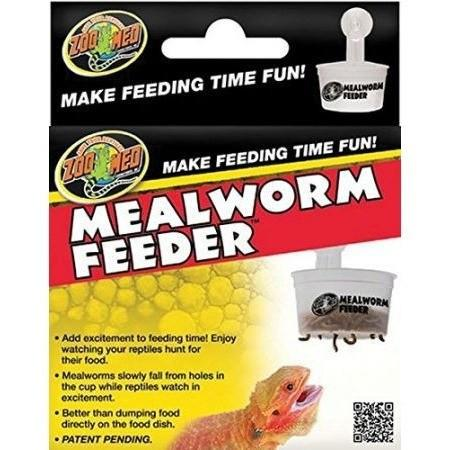 Zoo Med Hanging Meal Worm Feeder Bowls & Dishes Zoo Med