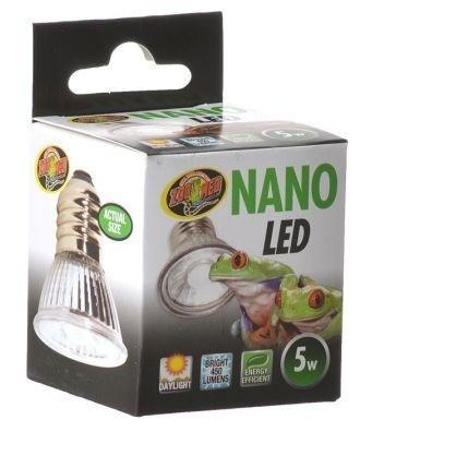 Zoo Med Nano LED Lamp Lighting Incandescent Zoo Med