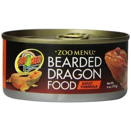 Zoo Med Natural Bearded Dragon Adult Formula - Canned