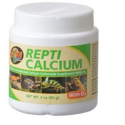 Zoo Med Repti Calcium With D3 Supplements Zoo Med 3 oz