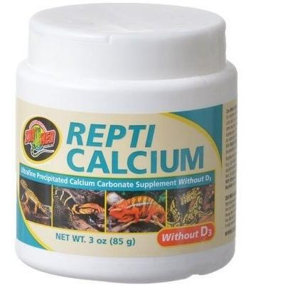 Zoo Med Repti Calcium Without D3 Supplements Zoo Med 3 oz