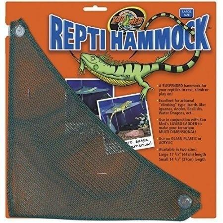 "Zoo Med Repti Hammock Climbing Items Zoo Med Small - (14.5"" Long x 10"" Wide)"