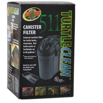 ZooMed Turtle Clean Canister Filter 511 - Model 511 (160 ...