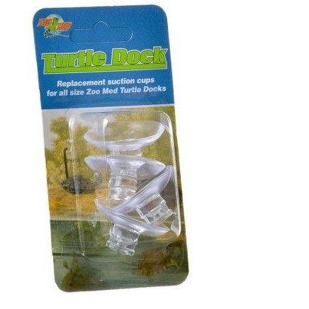Zoo Med Turtle Dock Suction Cups Hiding Places Zoo Med 4 Pack