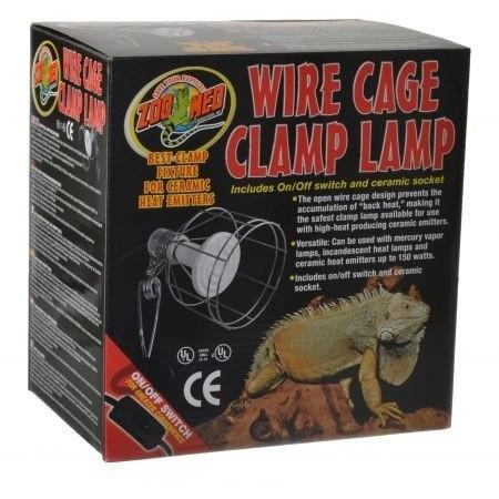 Reptile Reflectors Amp Domes Zoo Med Wire Cage Clamp Lamp Reptiles Lounge