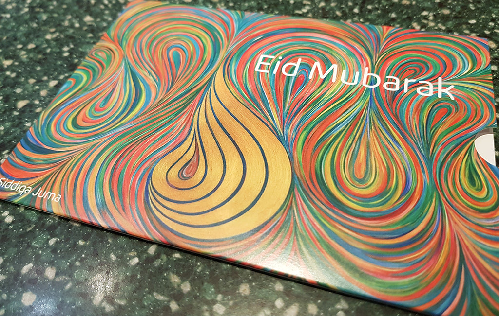 Artwork featured on intu shopping centre gift cards