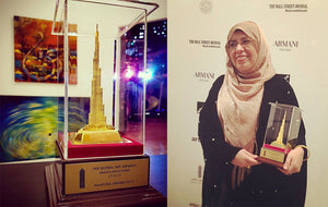 Global Art Awards, a night to remember at the Burj Khalifa