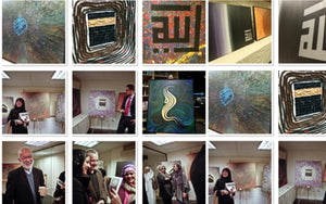 My first art Exhibition in the Uk at the Islamic Human Rights Commission