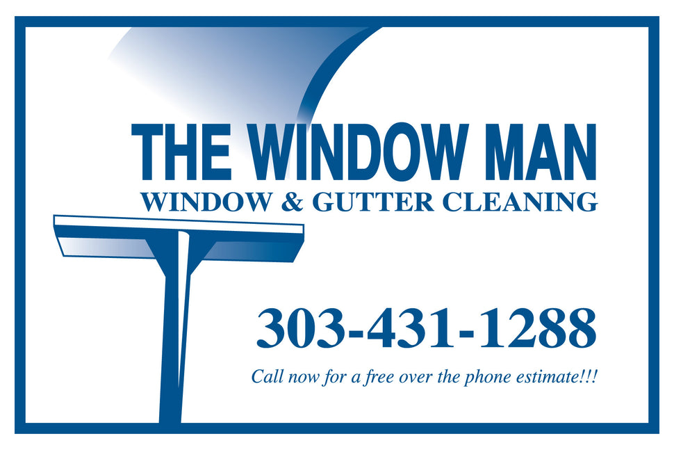 The Window Man 303-431-1288