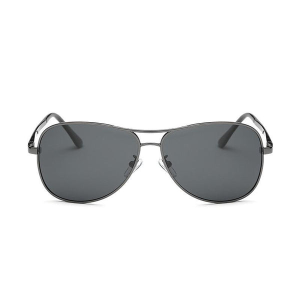 Alex in Gunmetal Grey Sunglasses Aviators - GETSUNNIES CANADA