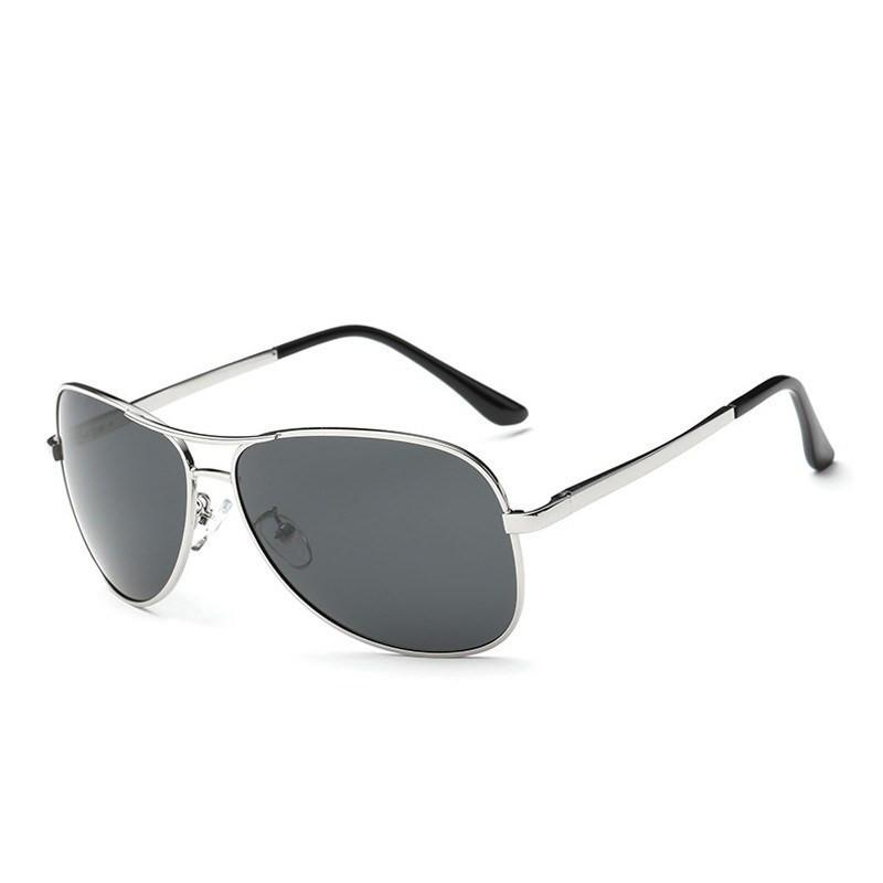 Alex in Silver Sunglasses Aviators - GETSUNNIES CANADA