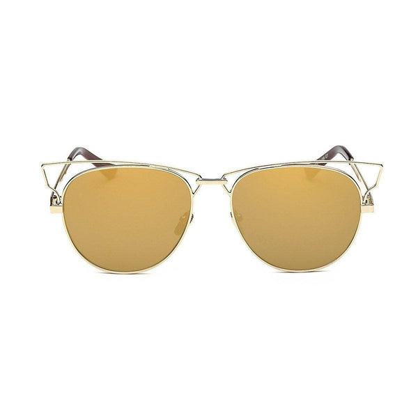 Jaime in Gold Sunglasses Cat Eye - GETSUNNIES CANADA