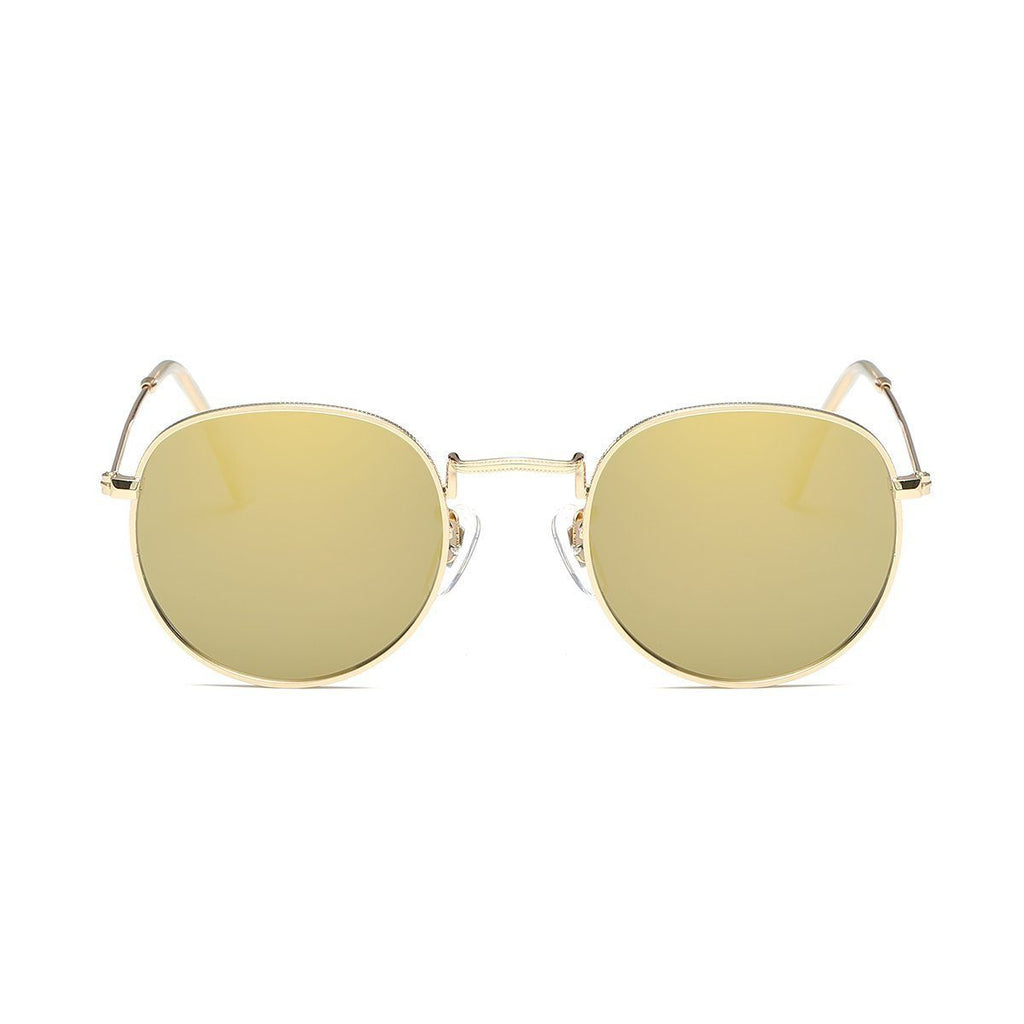 Jade in Gold Sunglasses Round Frame - GETSUNNIES CANADA