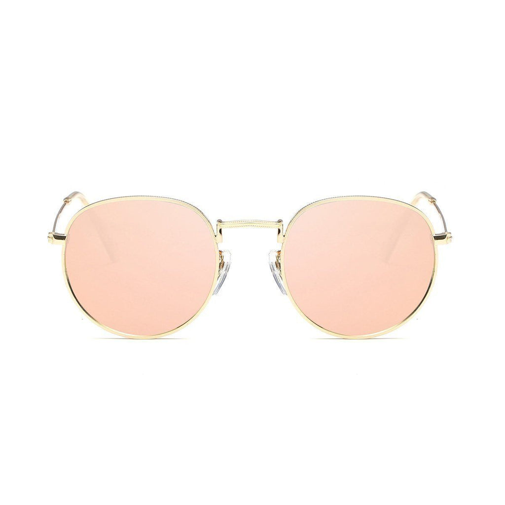 Jade in Rose Gold Sunglasses Round Frame - GETSUNNIES CANADA