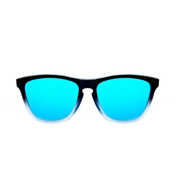 Ryan in Black + Blue Sunglasses Wayfarers - GETSUNNIES CANADA