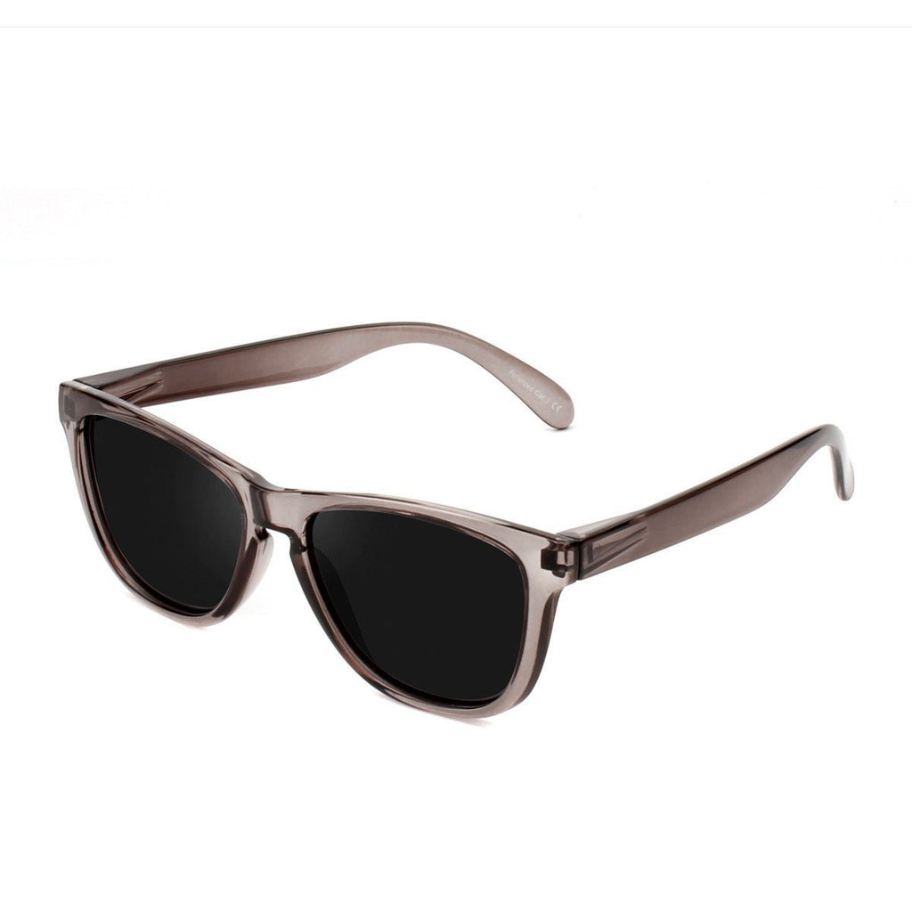 Ryan in Grey + Black Sunglasses Wayfarers - GETSUNNIES CANADA