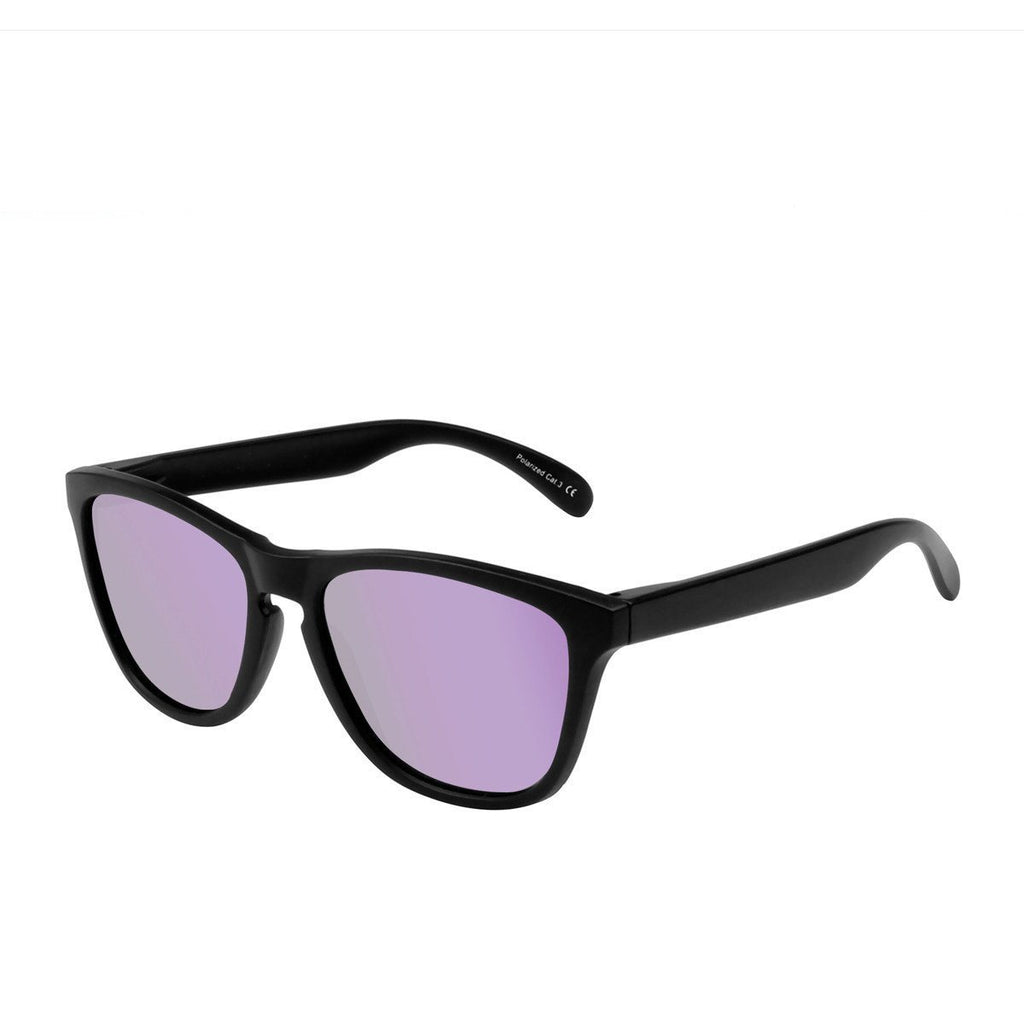 Ryan in Matte Black + Purple Sunglasses Wayfarers - GETSUNNIES CANADA