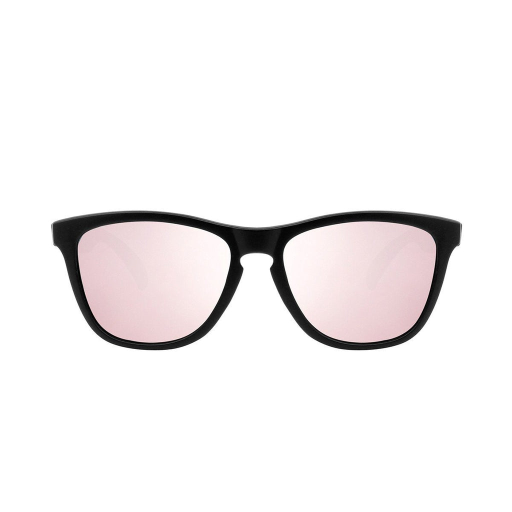 Ryan in Matte Black + Rose Sunglasses Wayfarers - GETSUNNIES CANADA