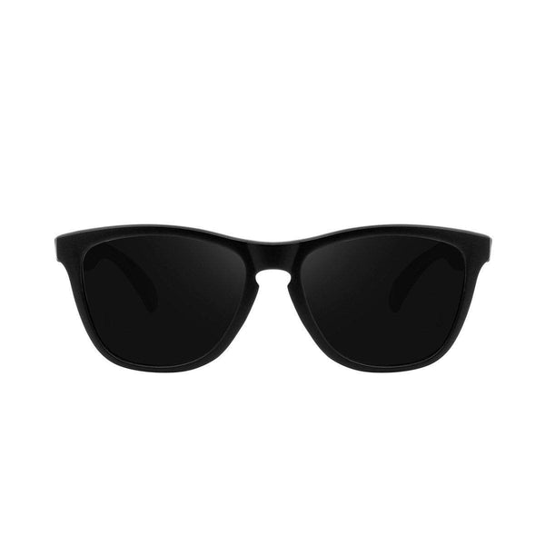 Ryan in Matte Black Sunglasses Wayfarers - GETSUNNIES CANADA