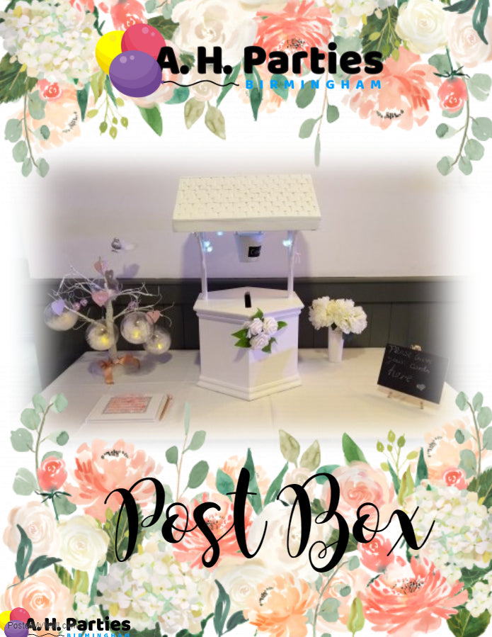 Wishing Well Post Box £25