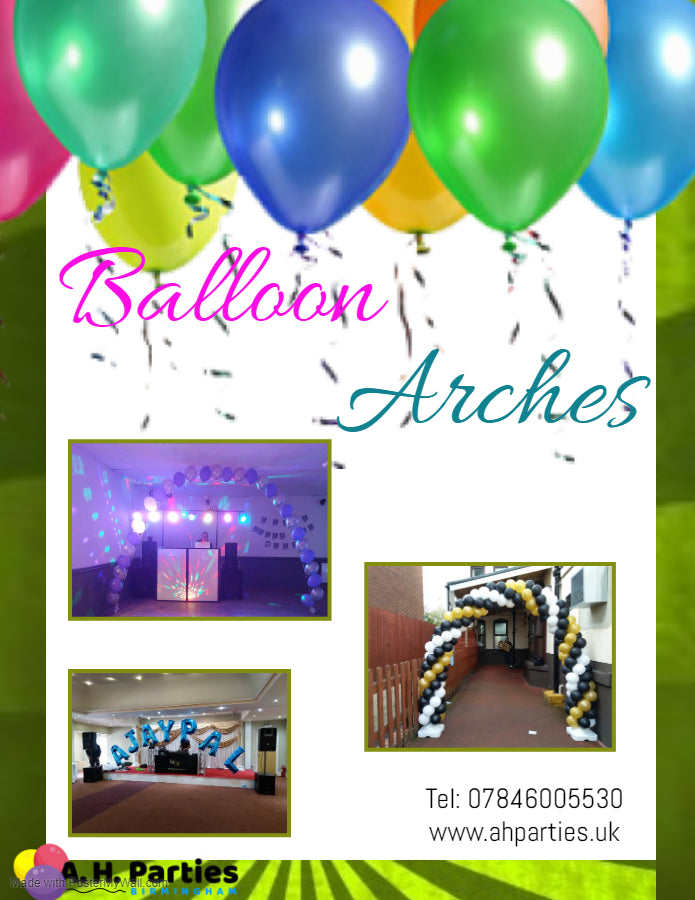 Balloon Arches - £80