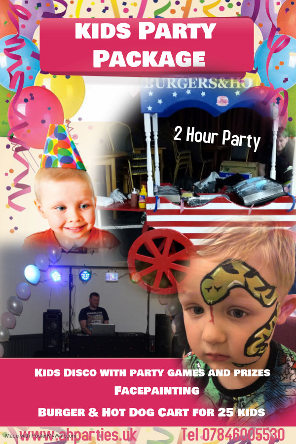 Kids Party Package - £250