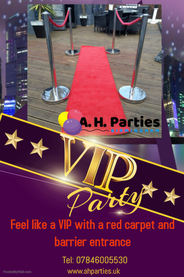Red Carpet Entrance £25