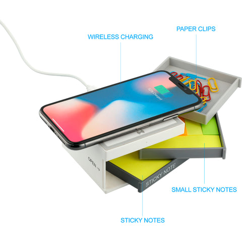 Home Office - Chaos Desk Kit with Wireless Charging Pad