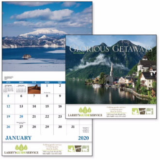 PE98 - 2020 Calendar, Glorious Getaways