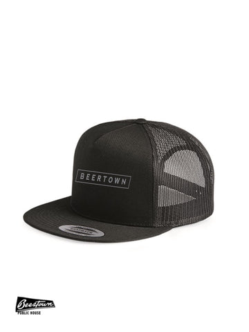 BEERTOWN - Flat Bill Ballcap - Beertown Box