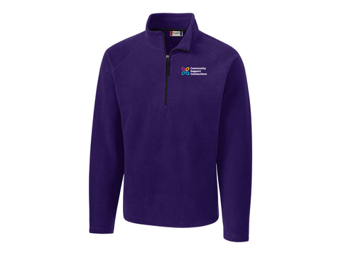 CSC - Half-Zip Microfleece, MENS