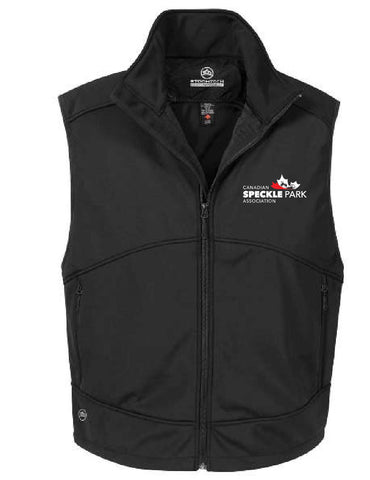 Speckle - Men's Bonded Vest - Black