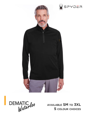 Dematic Waterloo - Men's Spyder Freestyle Half-Zip Pullover