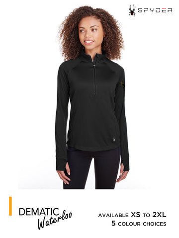Dematic Waterloo - Women's Spyder Freestyle Half-Zip Pullover